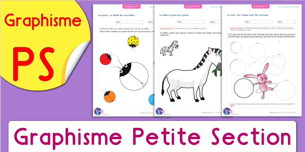 Graphisme Petite Section À Imprimer | Pdf Fiche Maternelle avec Exercice Petite Section Gratuit