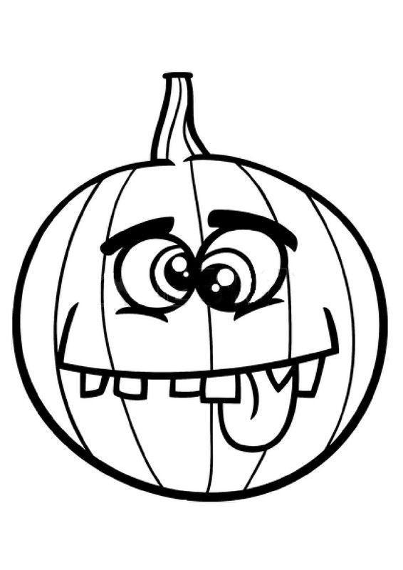 Halloween Les Citrouilles encequiconcerne Dessin Citrouille Halloween Imprimer