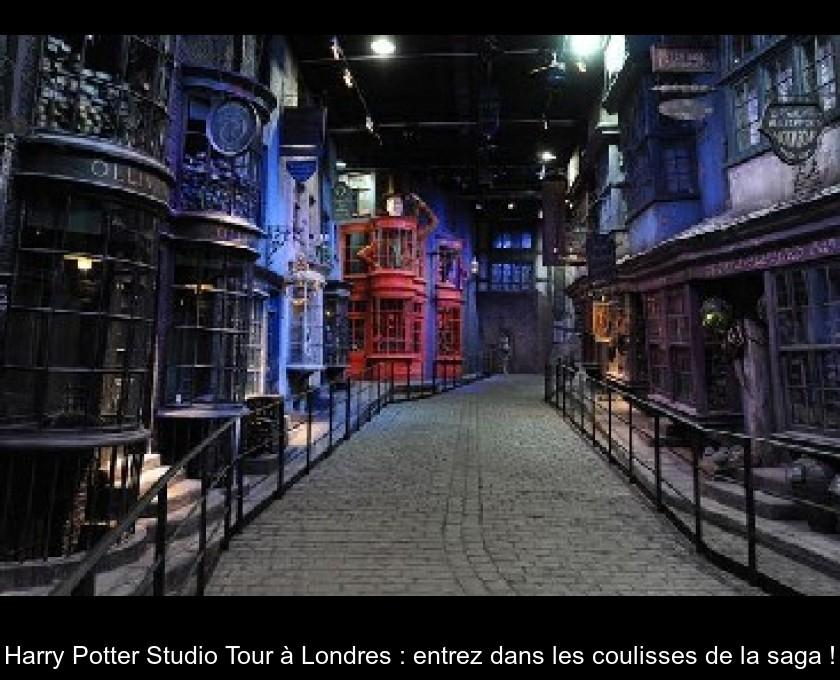 Harry Potter Studio Tour À Londres : Entrez Dans Les à Visite Des Studios Harry Potter Londres