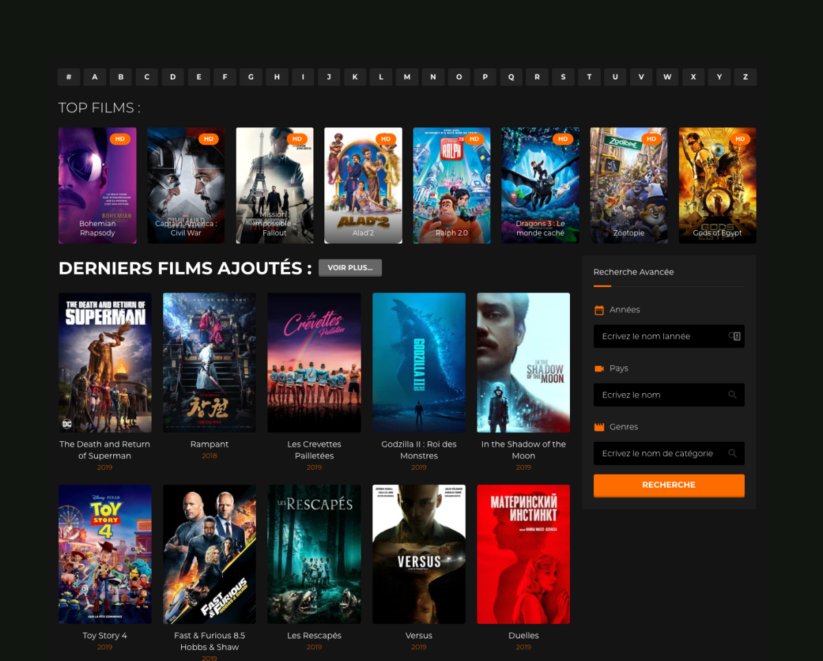 Hdss.to | Voir Des Films Gratuitement, Site Film Gratuit intérieur Film A Voir Gratuitement En Français