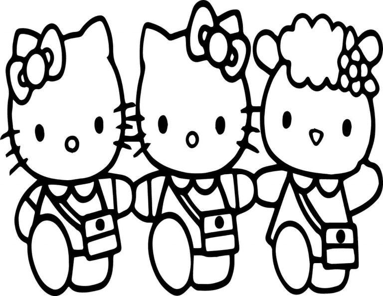 Hello Kitty À Dessiner - Primanyc intérieur Hello Kitty À Dessiner