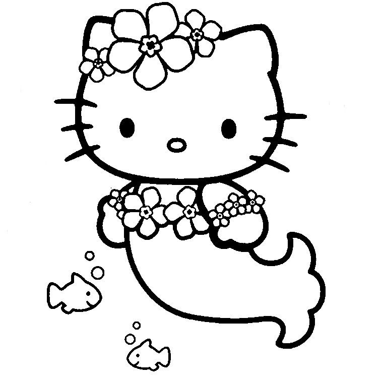 Hello Kitty | Coloriage À Imprimer Gratuit : Hello Kitty destiné Hello Kitty À Dessiner