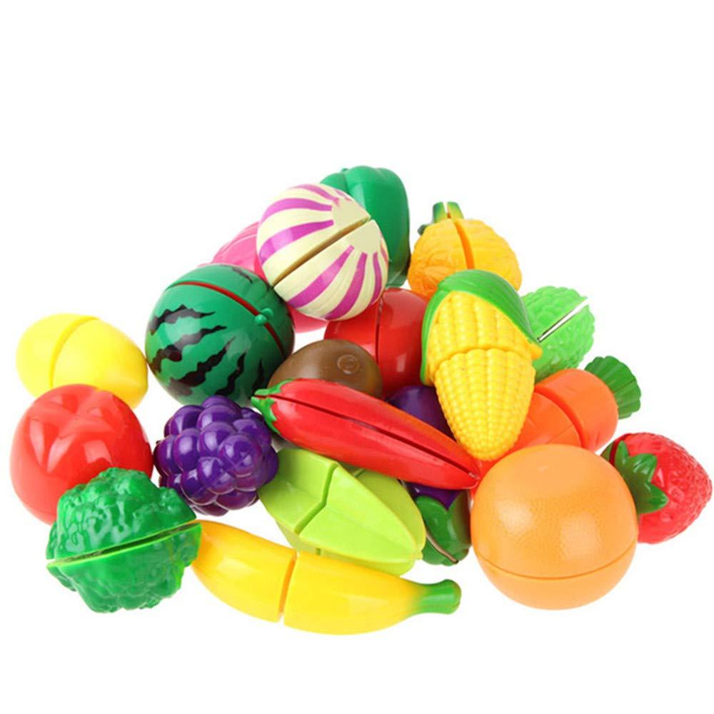 Hhjkl Alimentation Coupe Fruit Set Jouet En Plastique For avec Jeux Ou On Coupe Des Fruits