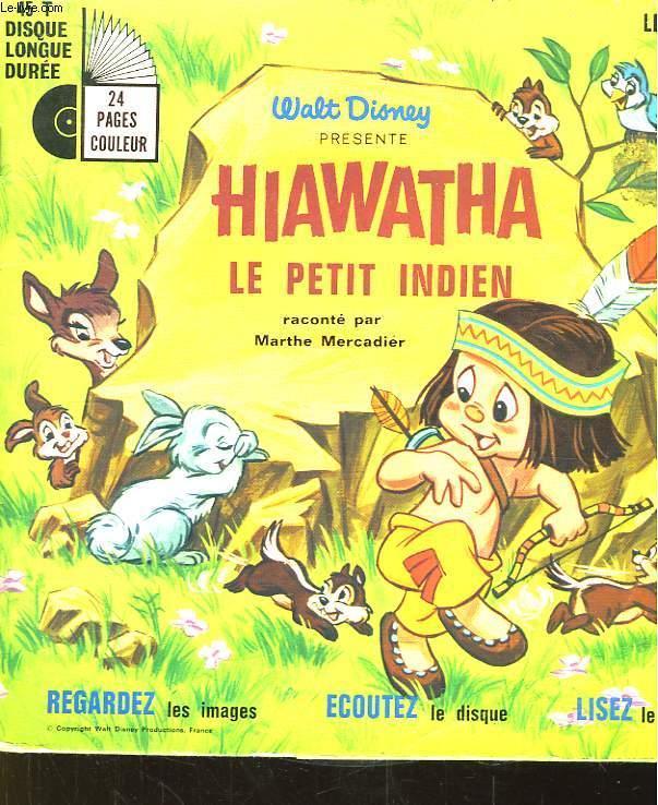 Hiawatha, Le Petit Indien By Mercadier Marthe: Bon concernant Petit Indien