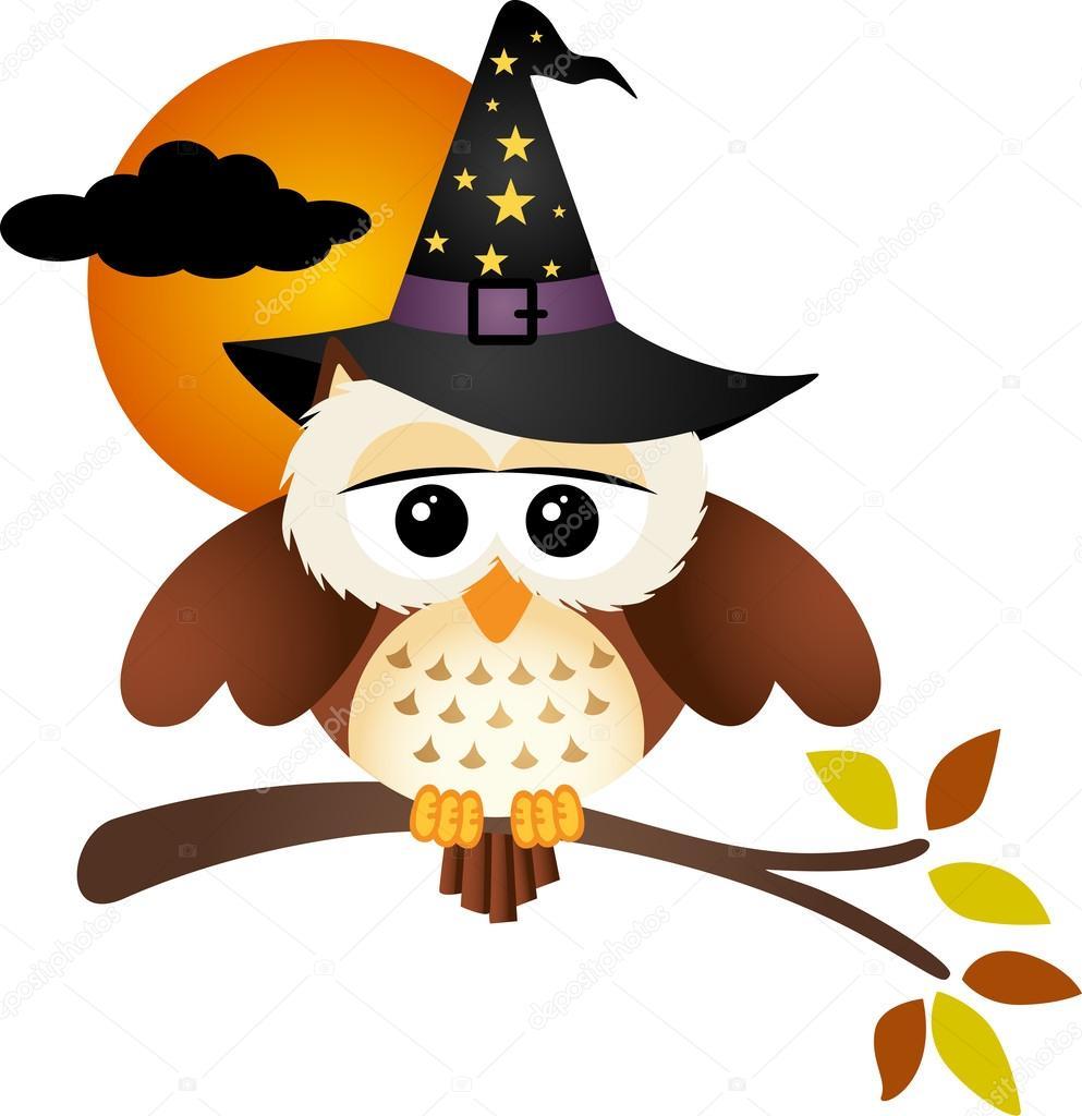Hibou D'Halloween Image Vectorielle Par Socris79 encequiconcerne Hibou Dessin Couleur