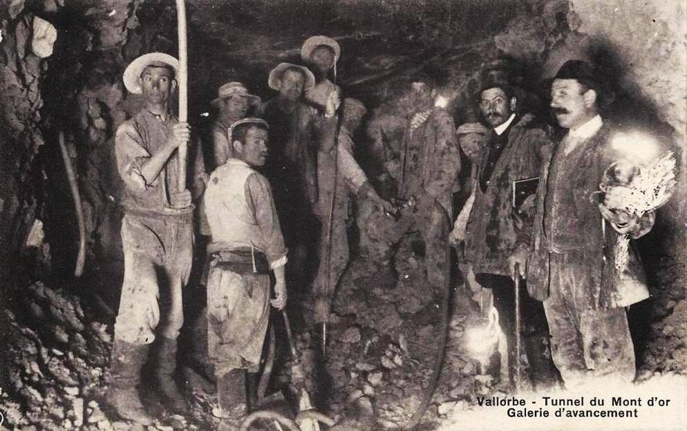 Histoire Et Histoires D'Arnex Sur Orbe: Le Percement Du avec Mineur D Or