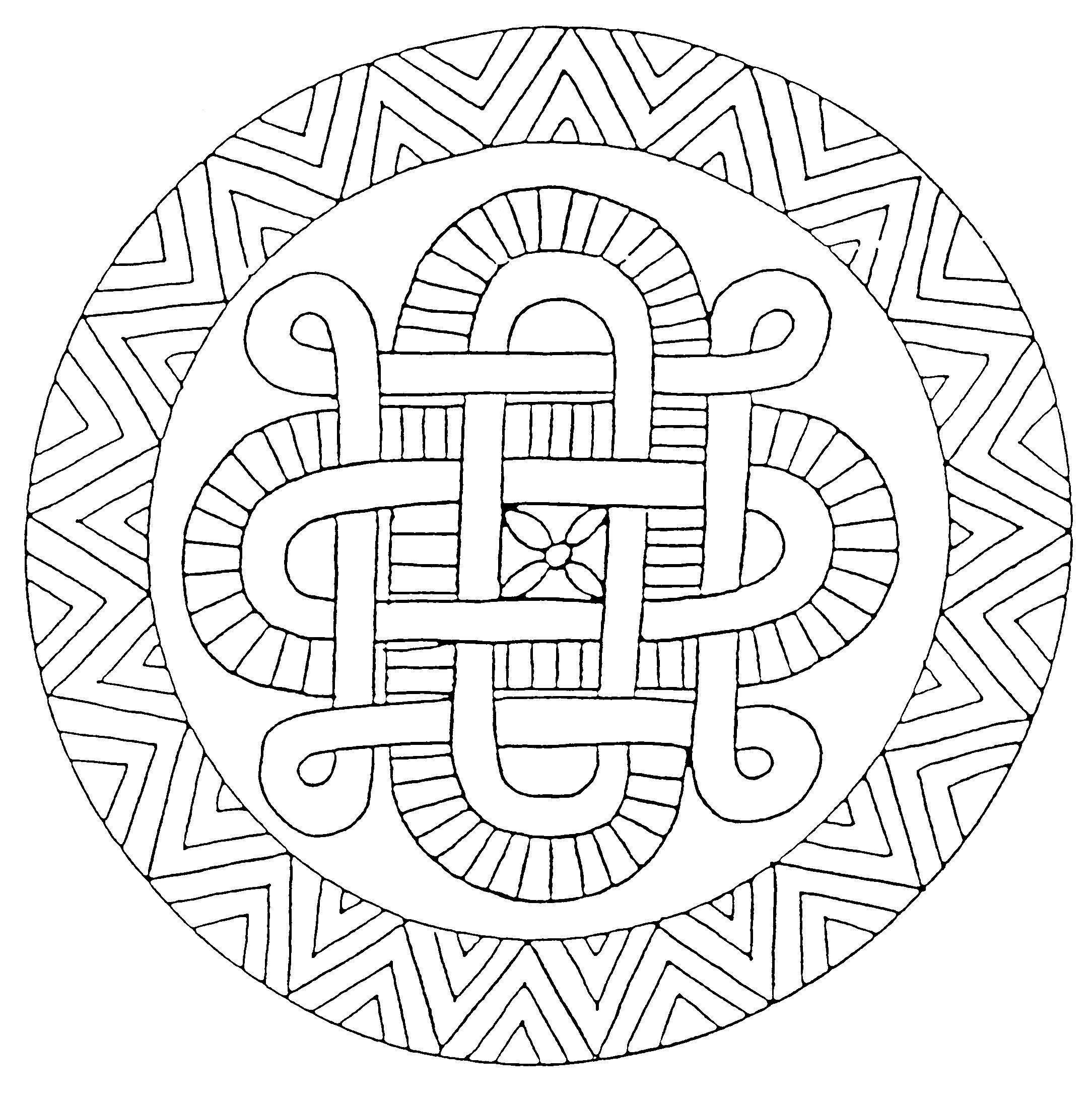 Hugo L Escargot Coloriage Mandala   Primanyc serapportantà Hugo L Escargot Coloriage Mandala
