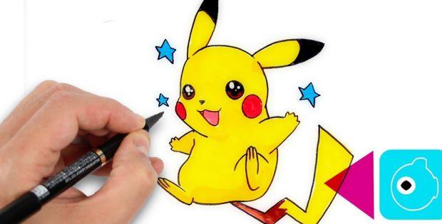 Image Dessin Facile Impressionnant Stock Ment Dessiner encequiconcerne Dessin Facile Pikachu
