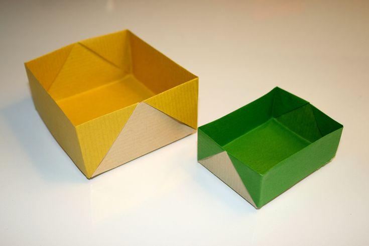 Img_7661_1024Px | Origami Facile, Origami, Boite En Papier à Patron Boite Rectangulaire
