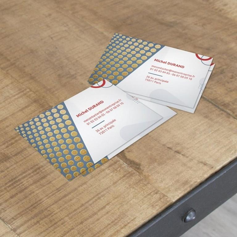Impression Cartes De Visite Vernis Paillettes, Invitation à Impression Invitation Pas Cher
