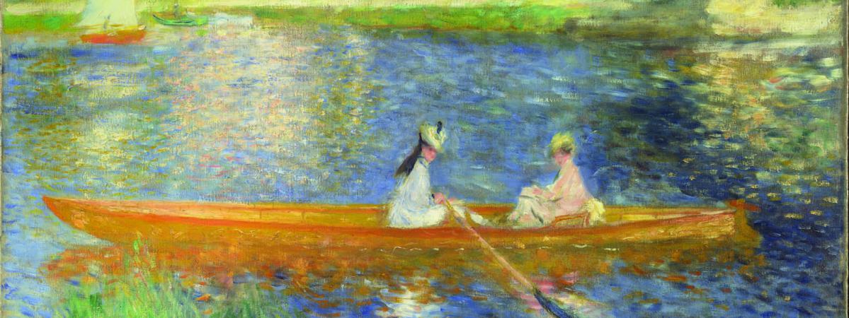 Impressionnisme : La Love Story De L'Eau serapportantà Tableau De Peintre Connu