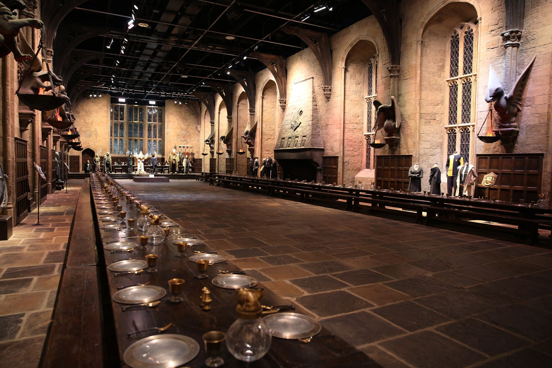Inside Warner Bros. Studio Tour London - The Making Of à Studio Warner Bros Londres Harry Potter