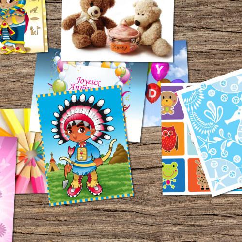 Invitation À Un Anniversaire Enfant - Cartons D'Invitation dedans Modele Carte D Invitation Anniversaire Enfant
