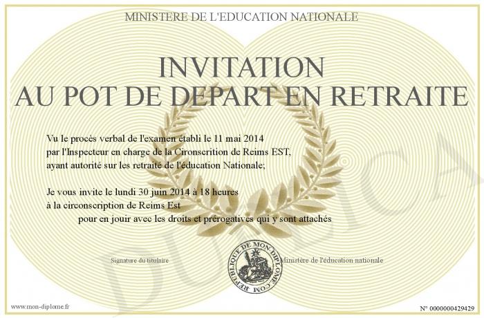 Invitation-Au-Pot-De-Depart-En-Retraite serapportantà Texte D Invitation Départ En Retraite