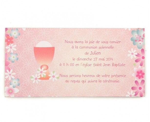 Invitation Communion 43116612 pour Modele Carte D Invitation Communion Gratuite Imprimer