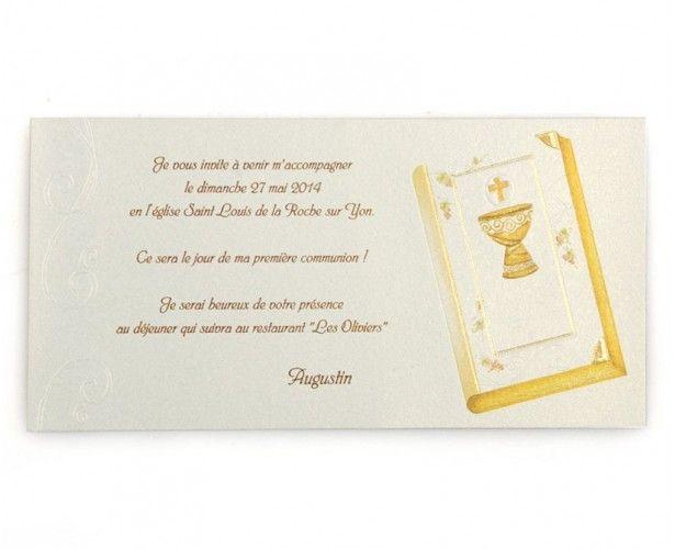 Invitation Communion 48515861 dedans Invitation Communion Gratuite À Imprimer