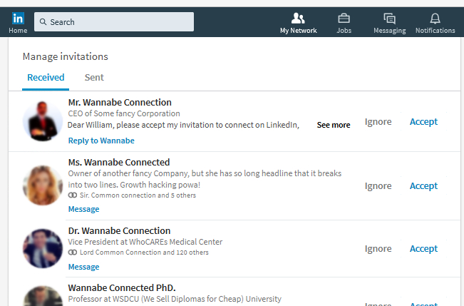 Is It Worth Sending Customized Linkedin Invitations dedans Invitation Linkedin Message