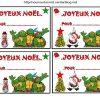 J'Ai Réalisé Des Étiquettes Pour Vos Cadeaux De Noël serapportantà Etiquette Noel À Imprimer