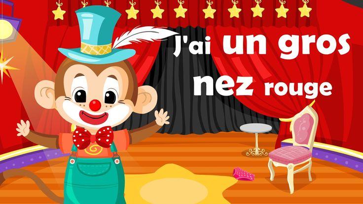 J'Ai Un Gros Nez Rouge (Comptine À Gestes Avec Paroles pour J Ai Un Gros Nez Rouge