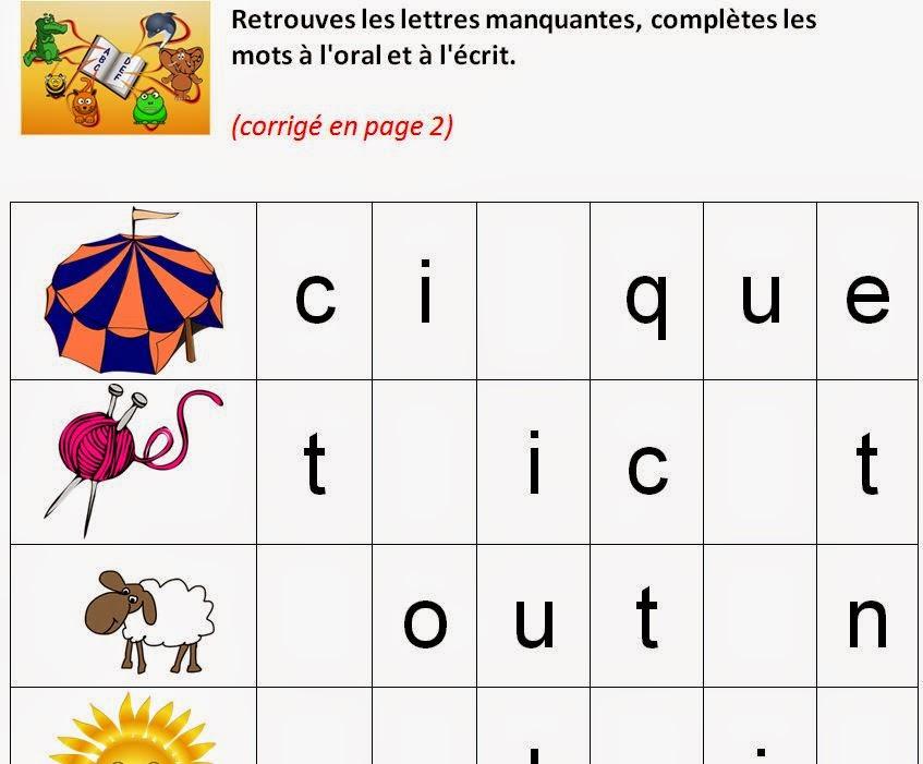 J'Apprends, Je Grandis En Maternelle Et Primaire: Février 2015 pour Jeux De Lettres Enfants