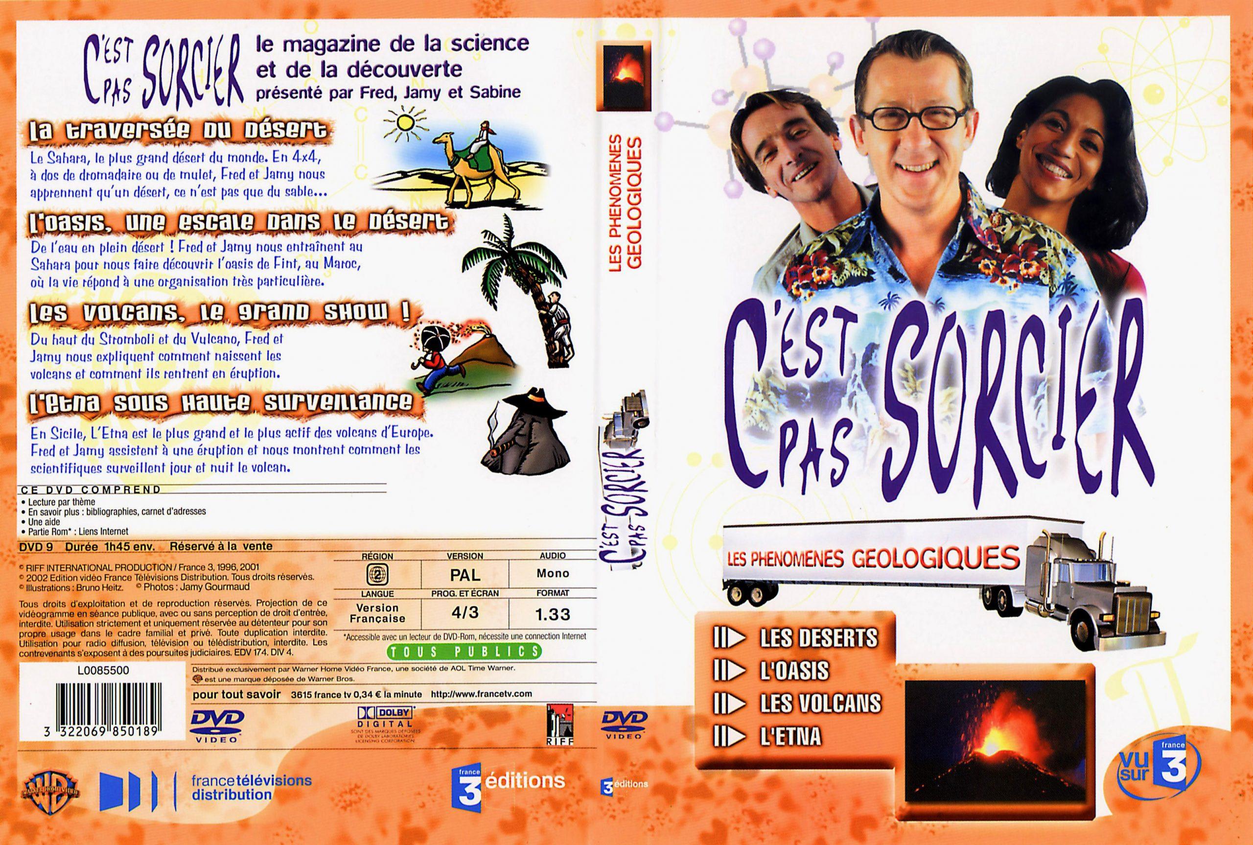Jaquette Dvd De C'Est Pas Sorcier Les Phenomenes tout Le Système Solaire C Est Pas Sorcier