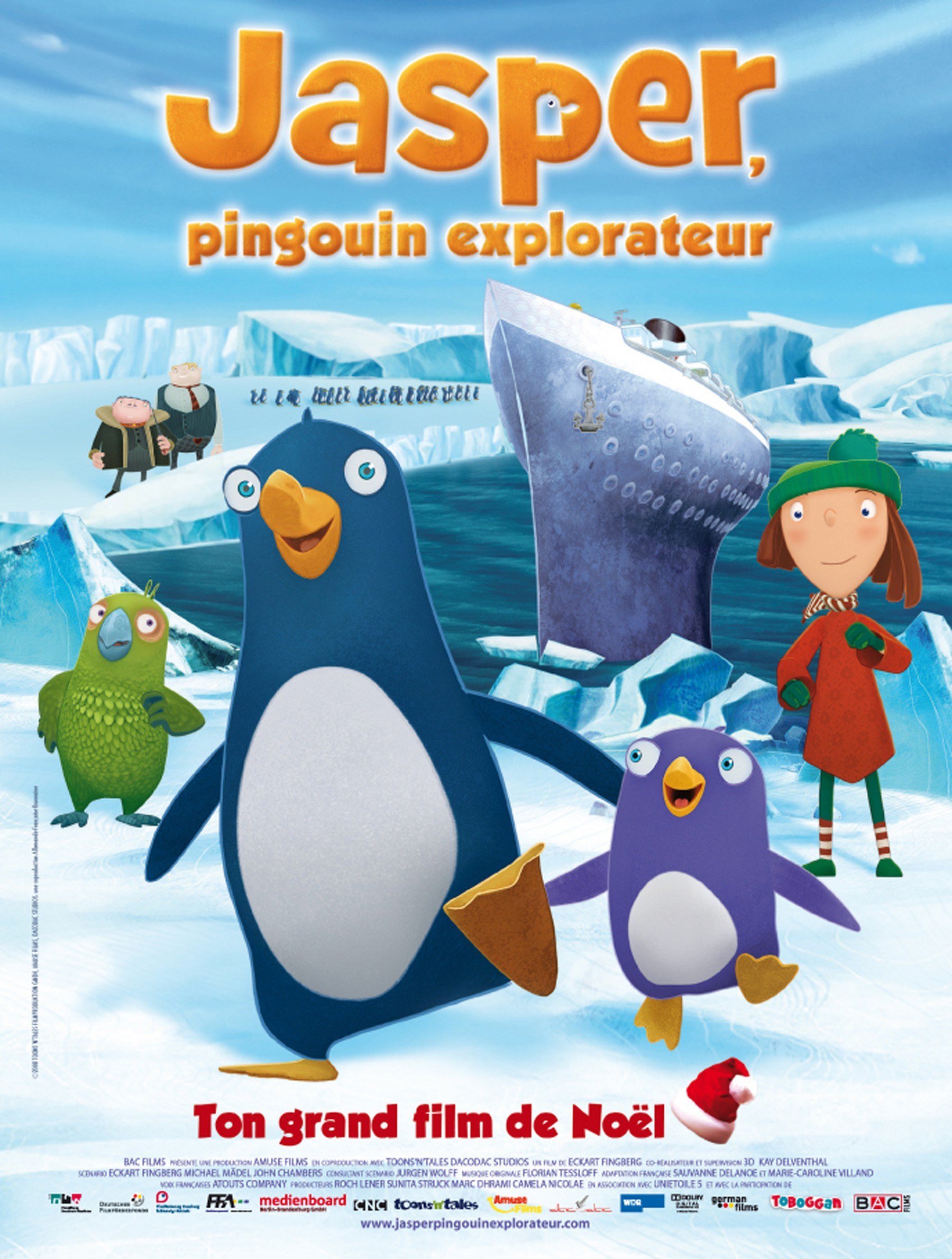 Jasper, Pingouin Explorateur intérieur Un Pingouin Du Pôle Nord