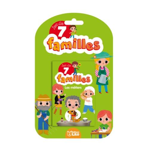 Jeu 7 Familles Les Métiers Pour Enfant De 5 Ans À 9 Ans à Jeux Gratuits Pour Enfants De 7 Ans
