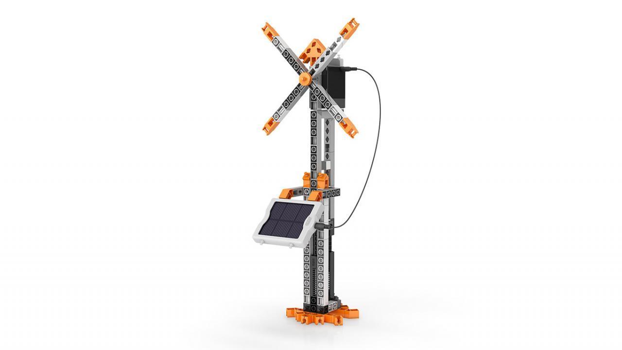 Jeu De Construction Engino Stem Solar Energie - 16 Modèles intérieur Jeu De Mo
