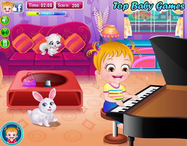 Jeu De Fille Gratuit Bébé Hazel concernant Jeux De Fille Gratuit De Bébé