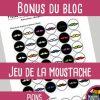 Jeu De La Bataille Navale Fle : Conjugaison Des Verbes destiné La Classe De Moustache