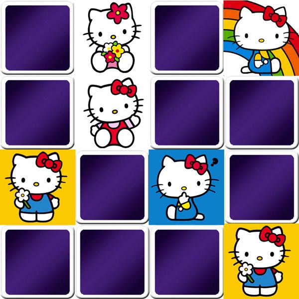 Jeu De Memory Enfant - Hello Kitty - En Ligne Et Gratuit tout Jeux En Ligne Enfant Gratuit