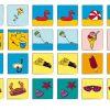 Jeu De Mémory Plage Et Vacances À Découper ! - Couleurmoka à Jeux De Memory Pour Enfants