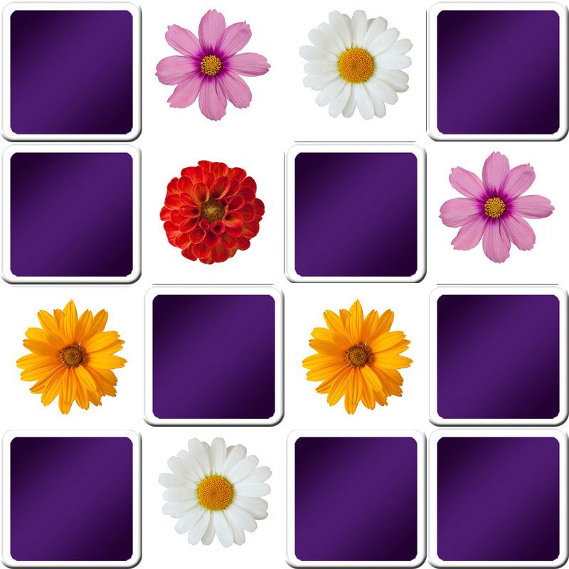 Jeu De Memory Seniors Thème Fleurs destiné Jeu De Memoire Gratuit