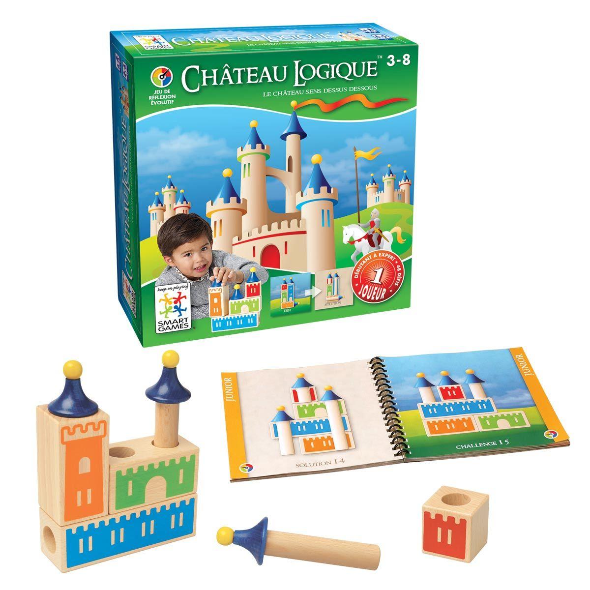 Jeu De Société Château Logique - Smart Games | Jeux De dedans Jeux De Logique Enfant
