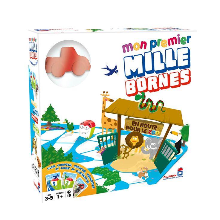 Jeu De Société Mon Premier Mille Bornes Dujardin Pour avec Jeux Enfant De 3 Ans