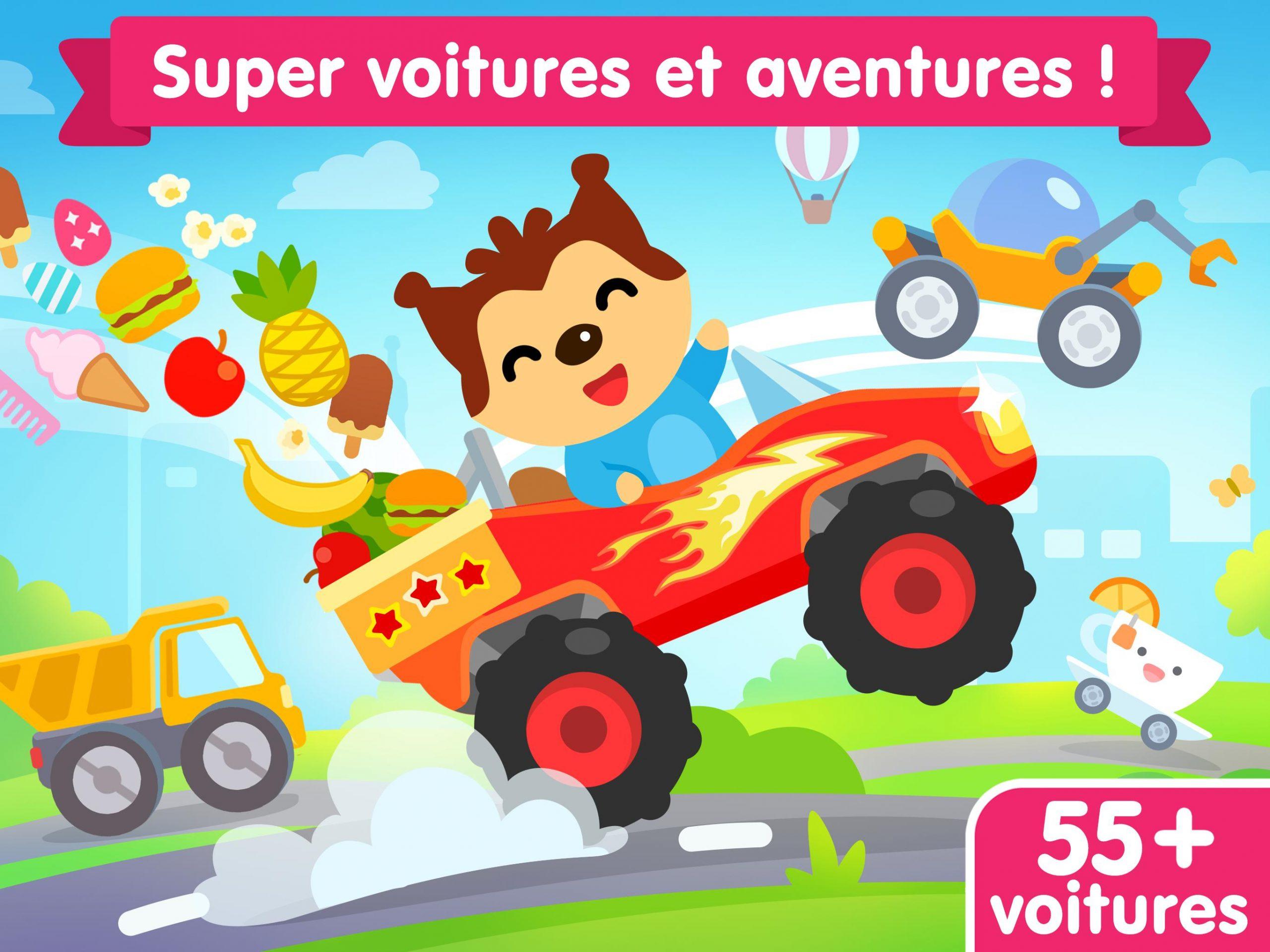 Jeu De Voiture Pour Les Bébés Et Enfants 3 Ans Pour tout Jeux Gratuits Pour Enfants De 3 Ans
