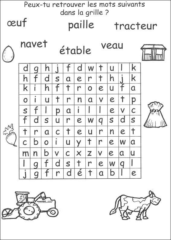 Jeu Du Mot Mystère À Imprimer   Mots Mystères, Mots intérieur Jeux De Mots Pour Enfants