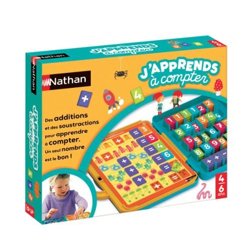 Jeu Éducatif J'Apprends À Compter Pour Enfant De 4 Ans À 8 serapportantà Loto A Toucher Nathan