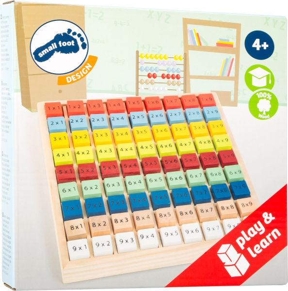 Jeu Éducatif Table De Multiplication Multicolore destiné Jeux Educatif Table De Multiplication
