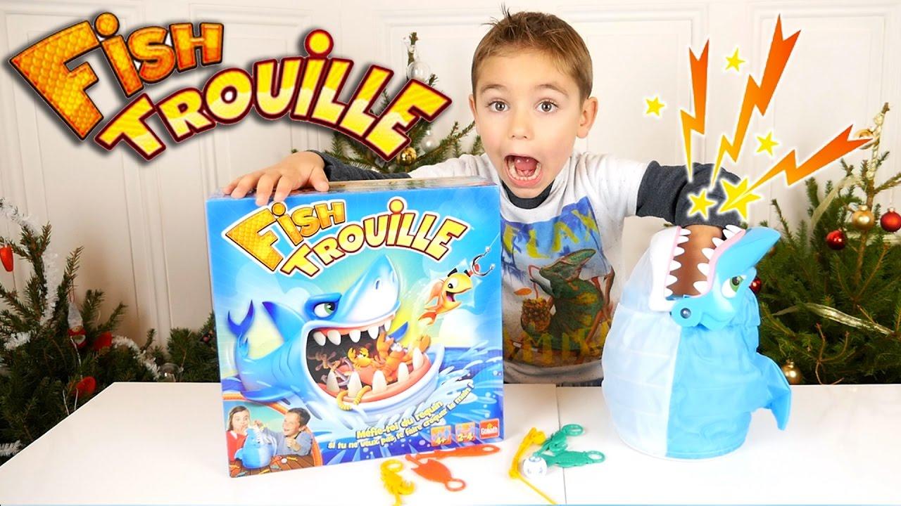 Jeu - Fish Trouille - Les Dents De La Mer ! - Jeu De pour Jeux De Betise Au Travail