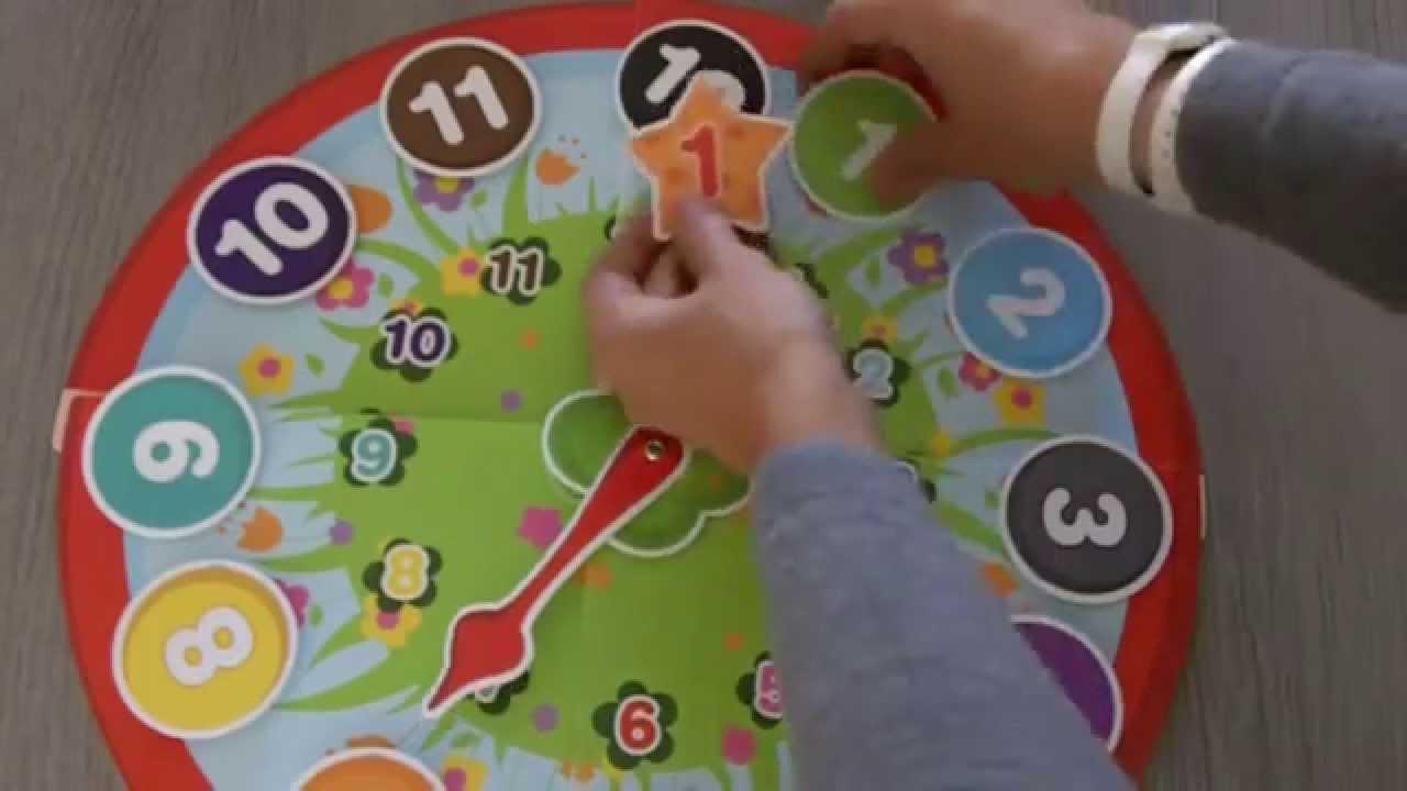 Jeu Pour Apprendre L'Heure À Un Enfant Dès 3 Ans tout Jeux Enfant 3 Ans Gratuit
