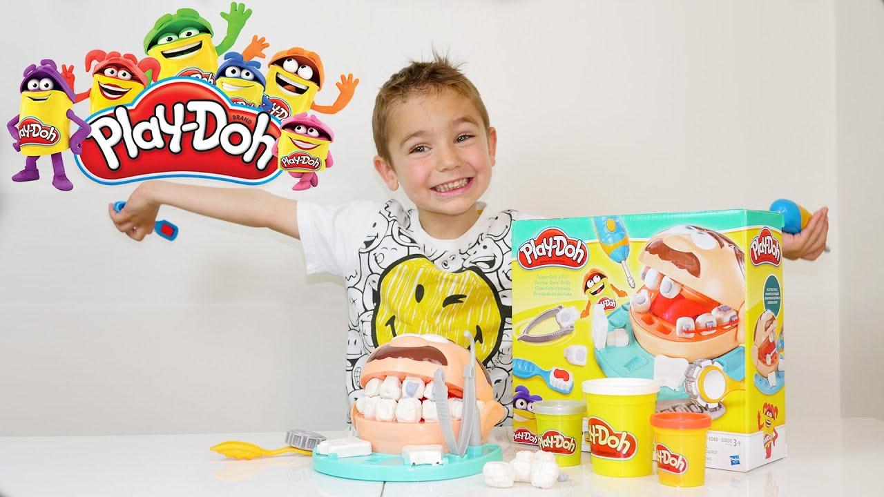 Jeu - Swan Le Dentiste Play-Doh - Pâte À Modeler Playdoh destiné Jeux De Pate À Modeler Gratuit