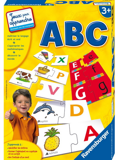 Jeux De Lettres De Ravensburger concernant Jeux De Lettres Enfants