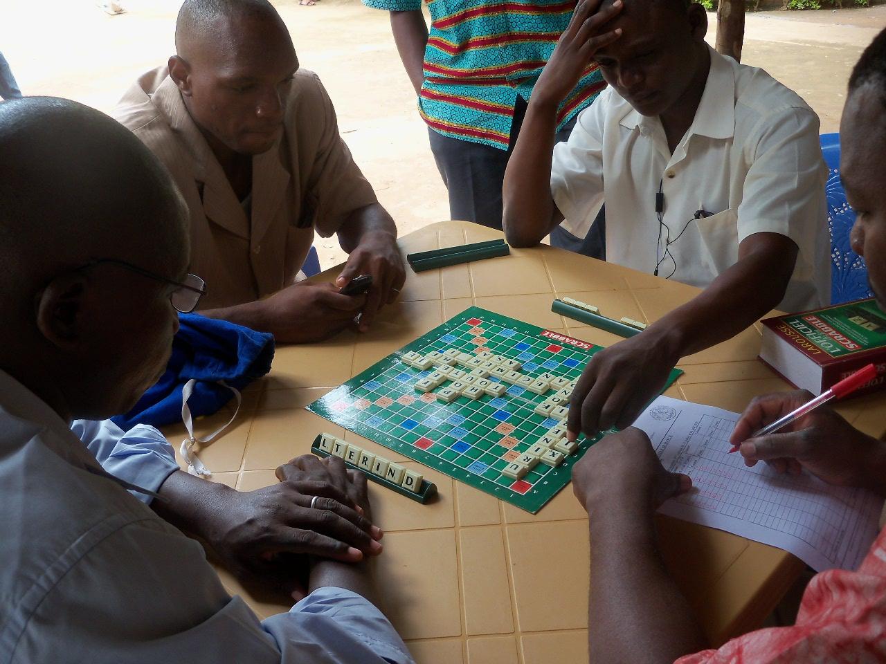Jeux De Lettres : La 3E Édition De Compétition De Scrabble dedans Jeux De Compétition