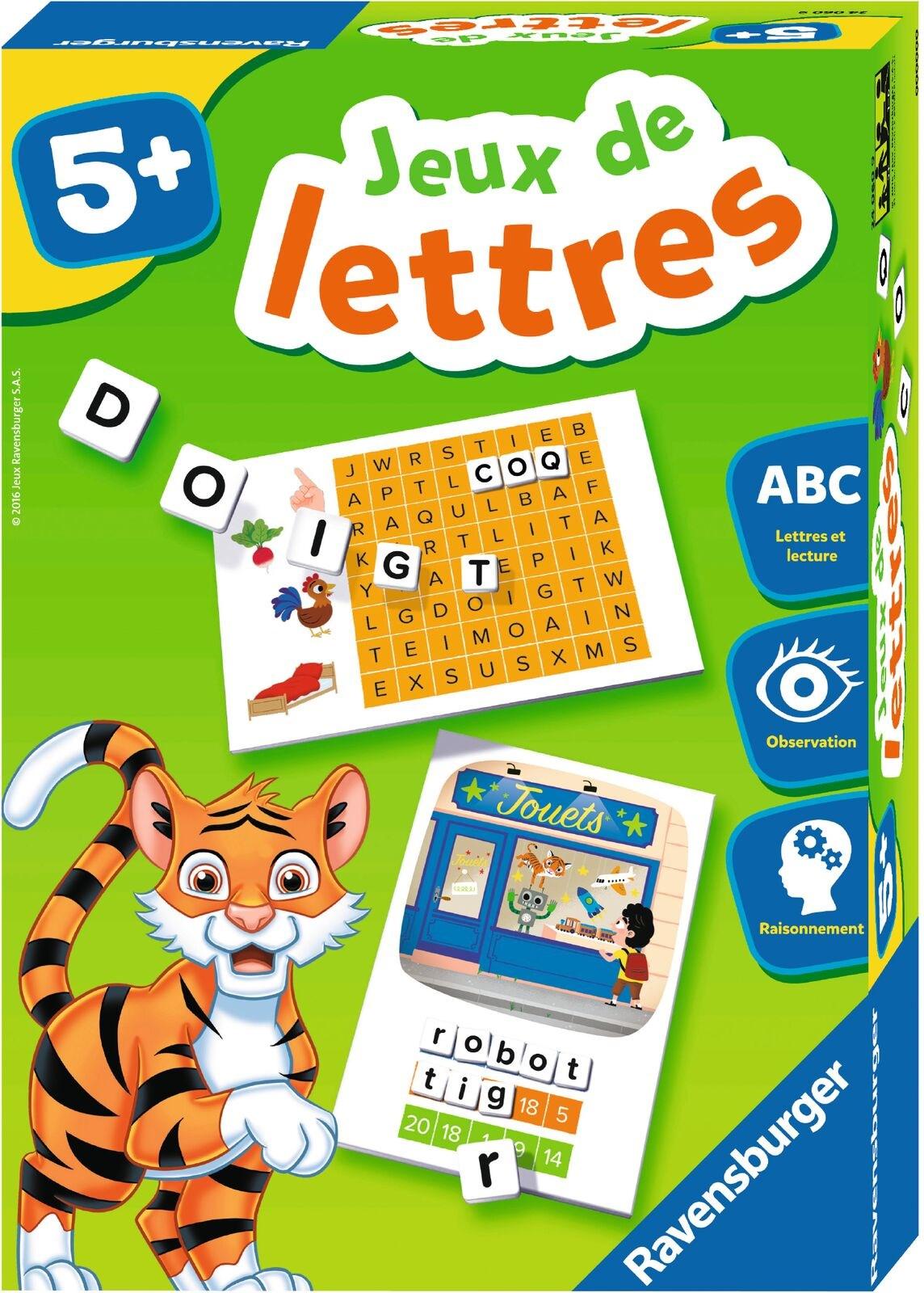 Jeux De Lettres   Scolart pour Jeux De Lettres Enfants