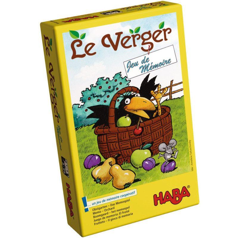 Jeux De Mémoire Le Verger Haba® - Ekobutiks® L Ma Boutique avec Jeux De Mimoire