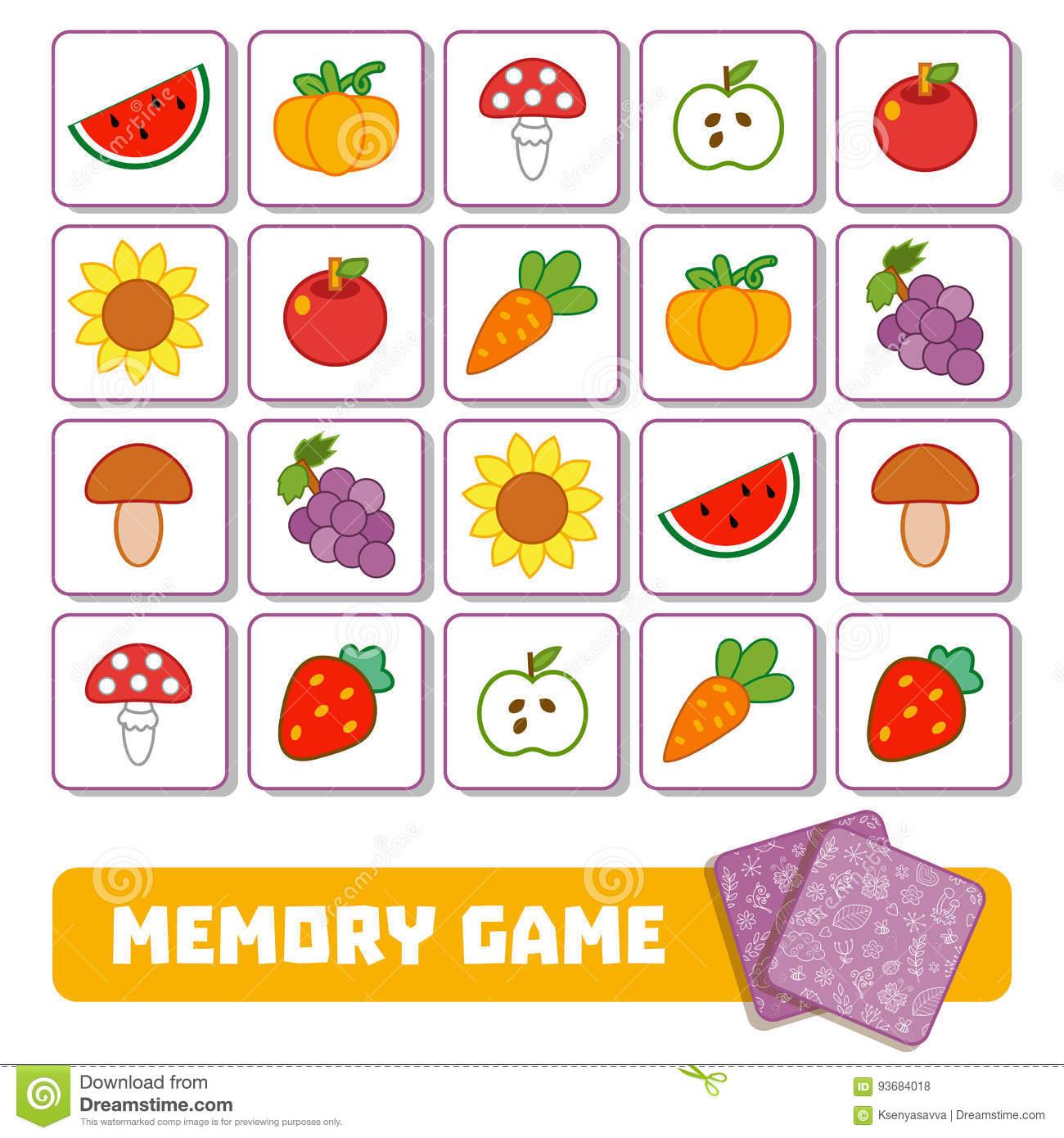 Jeux De Memoire Pour Enfant - Primanyc dedans Jeux De Memoire Enfant
