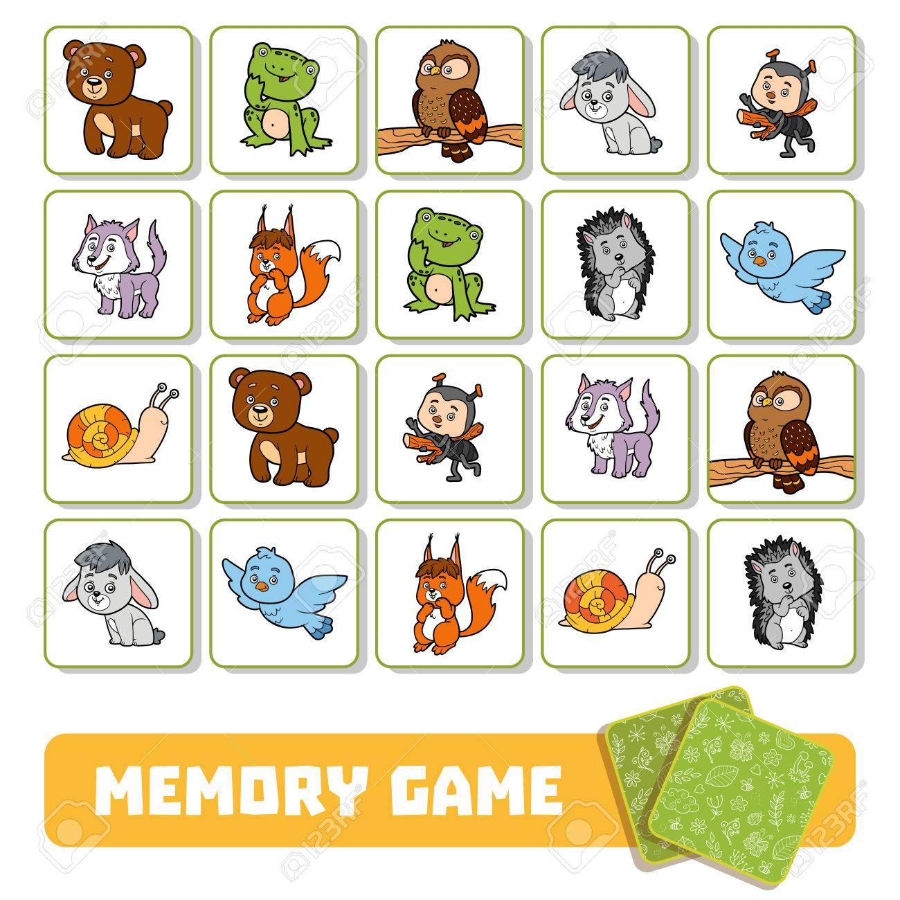Jeux De Memoire Pour Enfant - Primanyc tout Jeux De Memory Pour Enfants
