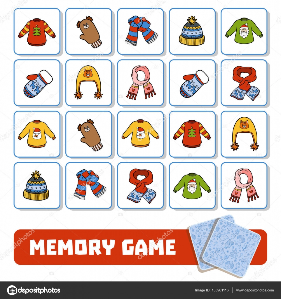 Jeux De Memoire Pour Enfant - Tcbo pour Jeux De Memoire Enfant