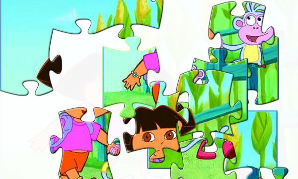 Jeux De Puzzle De Dora Et Babouche Gratuit - Stepindance.fr pour Puzzle A Faire Sur Ordinateur Gratuit